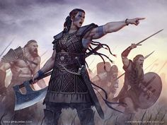 Post with 4014 votes and 177244 views. Tagged with art, inspiration, dnd, pathfinder, character design; Shared by mormacil. DnD Class inspiration dump: Barbarians and wild men Character Concept, Character Art, Character Design, Character Ideas, Concept Art, Viking Character, Fantasy Rpg, Medieval Fantasy, Fantasy Story