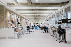 Dental Science, Radboud University, The Netherlands. By Inbo #concrete #renovation