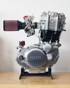 yamaha sr 500 by daniel peter autos und motorräder projekte retro motorräder oldtimerstpinterest