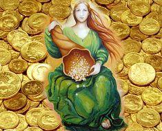 Gold Coin Wallpaper, Raining Money, Tarot Gratis, Rain Wallpapers, Lakshmi Images, Money Pictures, Animated Love Images, Gold Money, Santa Lucia