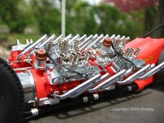 Tommy Ivo 4 engine dragster