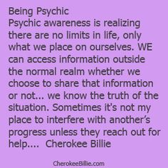 Psychic, intuitive, perception... Call it what you will. It's real. so real, that's why so many are drawn to you but don't know why ;)