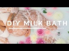 Milk Bath Maternity Session & Tutorial - Behind the scenes on Milk bath - YouTube
