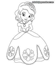 13 Mejores Imágenes De Princesas Para Colorear Coloring Pages