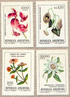 estampillas Argentina 1984