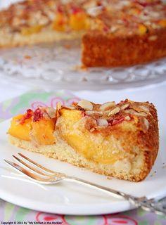 Pfirsich Mandelkuchen