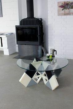 Zortrax 3D Prints an Entire Coffee Table 'KARO' from Their M200 Desktop 3D Printer http://3dprint.com/28082/karo-zortrax-3d-printed-table/