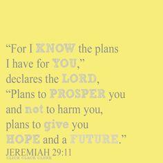 Click Clack Clunk: Jeremiah 29:11