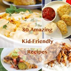 Inspired to cook something new in the kitchen? From 30-minute pasta recipes to slow-cooker dishes that take only minutes of prep work, these quick and easy kid-friendly recipes are sure to become new family favorites.