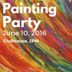 Come out to our painting party today at 2PM! You can bring your own canvas or use ours, but don't miss out on the painting fun! #tgif #paintingparty #art #thedok