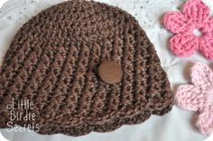 PATTERN ON ETSY $4---https://www.etsy.com/listing/75308109/the-ava-cloche-crochet-pattern-baby-hat?ref=shop_home_active_4