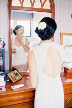 Bride Getting Ready | PHOTO SOURCE • BWRIGHT PHOTOGRAPHY | Featured on WedLoft