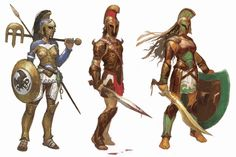 The Concept Art Library — The Humans of Theros The world of Theros was. Dnd Characters, Fantasy Characters, Fantasy Inspiration, Character Inspiration, Character Concept, Character Art, Greek Warrior, Sword And Sorcery, Fantasy Kunst