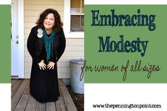 Embracing Modesty