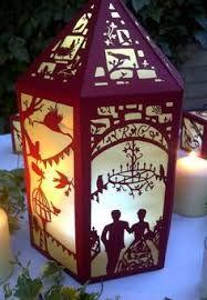 Image result for laser cut paper lanterns patterns