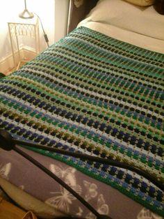 Middle Grandson's blanket completed!