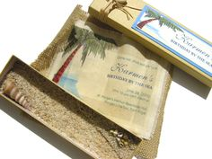 16 Best Creative Beach Theme Invitations Images Invitations
