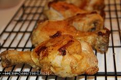 Deep South Dish: Picnic Oven Fried Chicken