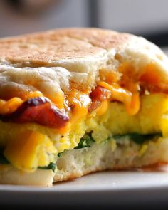 Microwave Prep Breakfast Sandwiches