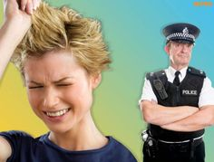 Woman rings police to seek legal advice after a dodgy haircut Too Funny lol