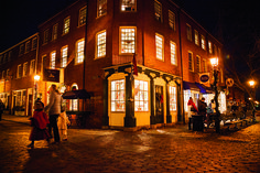 Take a step back in time during the holiday season to Newburyport, Massachusetts. Photo: Bob Packert