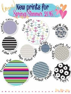 What's your favorite new print? Thirty-one Spring/summer catalog