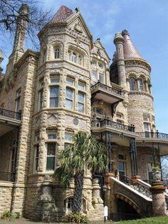 4-story stone Victorian wonder in Galveston TX #America #USA