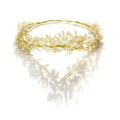 Gold Head Wreath, Gold Crown Headpiece, Leaf Crown, Greek, Goddess, Ha – One Curtain Road