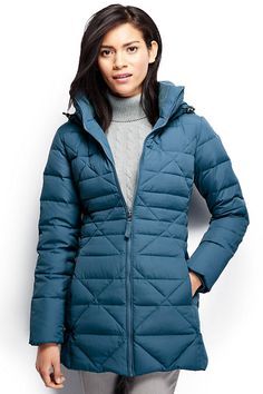 Women's Chalet Down Parka - Work, kids, friends, errands - your busy life doesn't always allow you to stay up to the minute with the forecast. But wearing our Chalet Down Parka, know that warmth isn't something you have to think about - it's guaranteed.