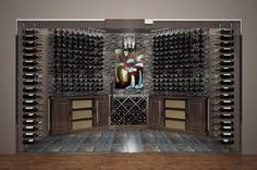 We offer you attractive range of design themes, colour schemes and racking system materials with our luxury wine cellar personalization. Design custom wine cellars with Papro Wine Cellars & Consulting.