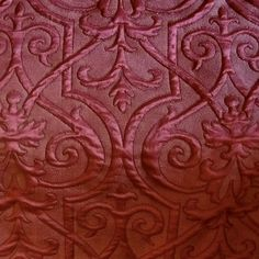 Gloriously Rich Gothic Matelasse Trapunto Tracery Fabric for Upholstery, Bedding, Pillows, and other projects