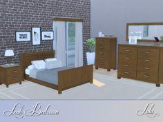 Leah Bedroom by Lulu265 at TSR via Sims 4 Updates