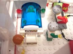 Cybercity s hospital v-2: A LEGO® creation by cyberfrank 2010 : MOCpages.com