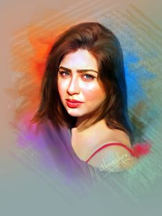 #aditibhatia #bollywood #actress #model #photoshoppainting Easy Drawings For Kids, Drawing For Kids, Digital Paintings, Bollywood Actress, Ariel, Mona Lisa, Sketch, Portraits, Celebs