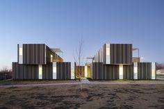 Echo Ridge Duplexes /  with rain screen siding. Josh Shelton, AIA of el dorado architects.