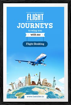 Get your flight journey booked with just few simple steps & step up to FLY. Air ticket bookings available at http://fastticket.in/