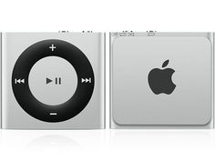 APPLE iPod Shuffle 4th Generation [2GB] (Silver) (September 2012 sale)