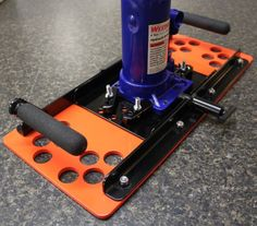 """""""Big Foot"""" Base Plate - $79.00 -  PN 97M-SJBJB - """"Big Foot"""" base plates mate perfectly with the Universal Base Plate for Bottle Jacks for the ultimate in safe jacking operations when you have to do it in the dirt. """"Big Foot"""" is 144 square inches of safety. The widened base is 4X-5X more stable than a jack by its self & the big foot print of the base makes it easy to support loads on soft surfaces or very heavy loads on asphalt.  Transfers a 6000# load from 400#s/square"""" to 42#s/square""""."""