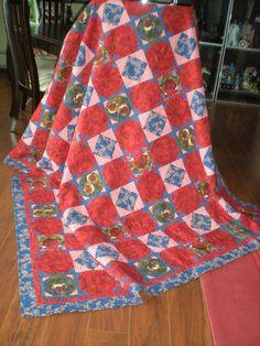 Lauren's quilt. Made by Cheryl Astern. email: cheryl@skrunchbucket.com