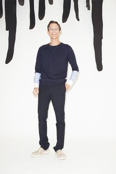 Band of Outsiders Spring 2015 Menswear Collection Slideshow on Style.com