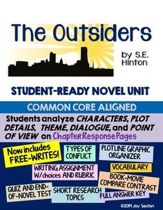 The Outsiders Character Essay