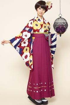 「アートを着る!個性的な柄の袴で最高の1日に♡」のまとめ10枚目の画像 | MERY [メリー] - 女の子のためのキュレーションメディア