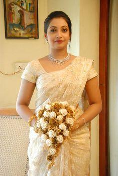 Indian Christian Wedding saree