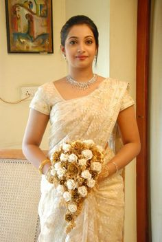Indian Christian Wedding saree