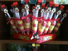 Mickey  marsmallows birthday party
