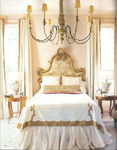 Love the Bed Ruffle, everything else is a little over the top