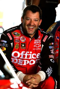 "Who doesn't like a lil ""Smoke"" now and then?  Tony Stewart, 2011 Nascar Sprint Cup Champ."