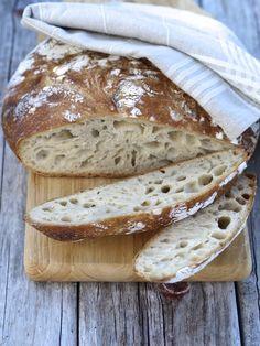 [kjøkkentjeneste]: No knead brød eller eltefritt brød