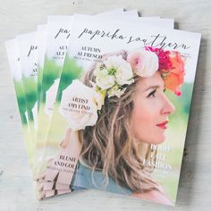 Paprika Southern Magazine from Colonial House of Flowers   Statesboro Florist