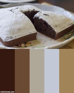 Pumpkin+&+Chocolate+Cake+Color+Scheme